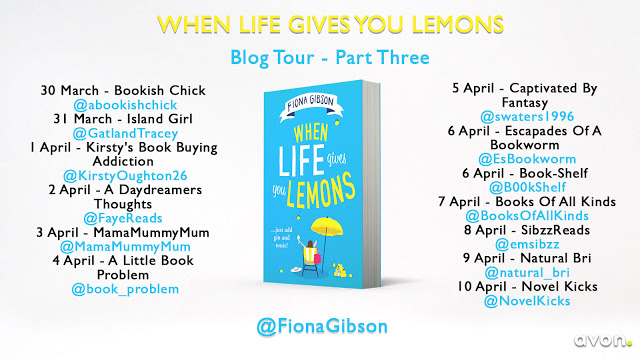 Blog Tour for When Life gives you Lemons by Fiona Gibson (3)