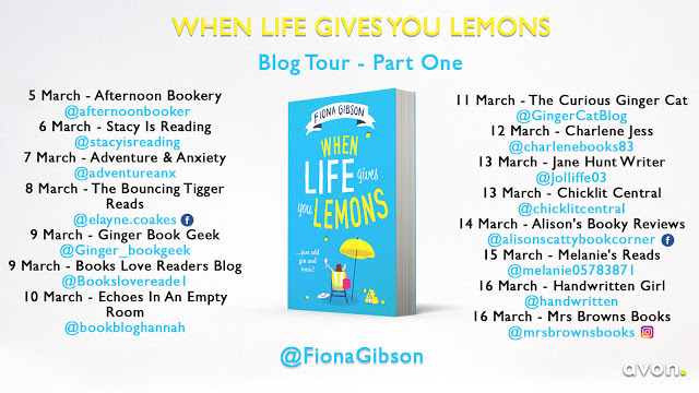 Blog Tour for When Life gives you Lemons by Fiona Gibson (1)