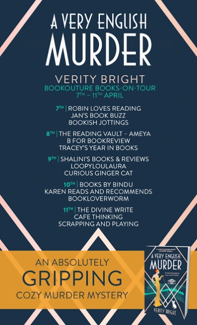 Blog Tour for A Very English Murder by Verity Bright